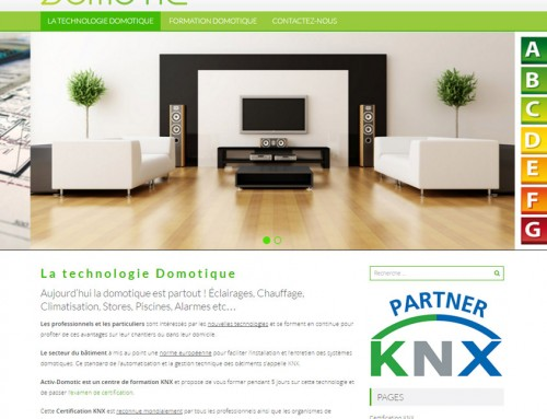 Certification KNX avec Activ-Domotic