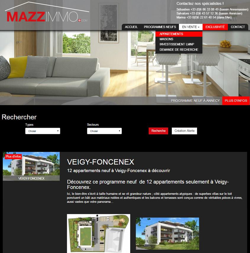 Mazzimmo - Agence Immobilière Haute-Savoie