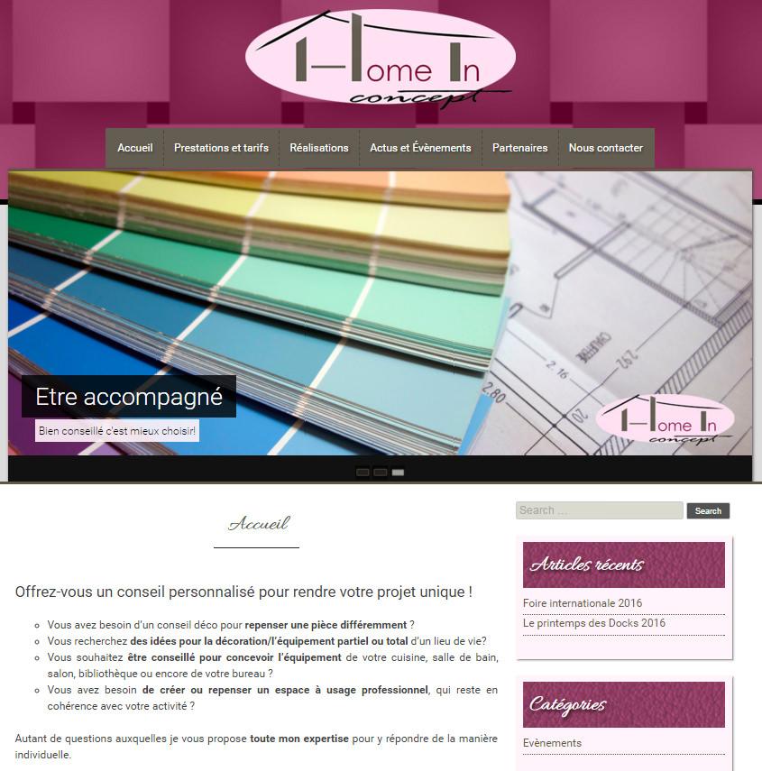 Home-in-Concept fait confiance à Deazweb pour se lancer dans le web