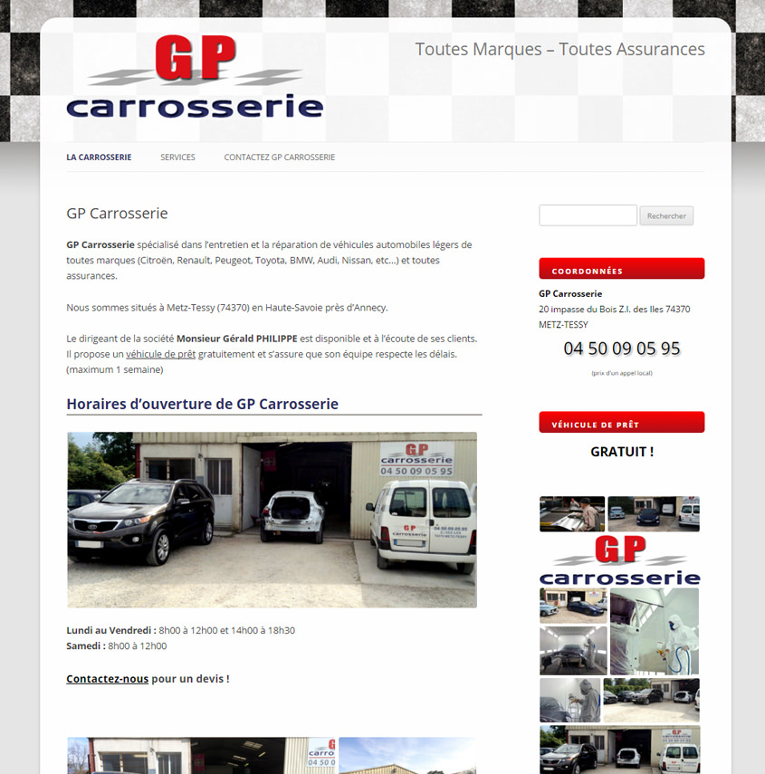 Carrosserie en Haute-Savoie Metz-tessy / Epagny