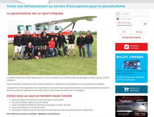 Refonte graphique et Migration du site e-commerce Chutextrem